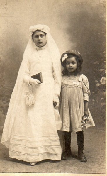 Communion Germaine CHARTIER avec Therese 1916