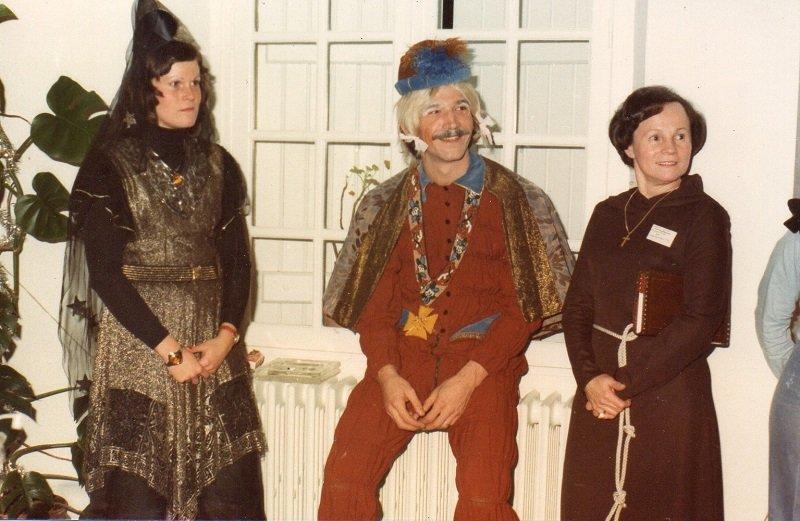 Nouvel an 1976 au Moulin