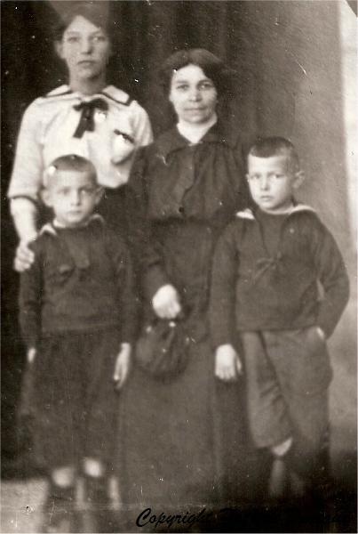 richard-helene-ses-enfants-1921_GF