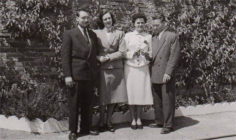 Mariage Jean et Robert CHILOT 22-05-1952