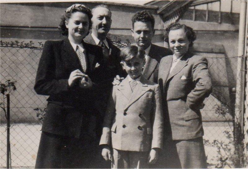 VALLOIS Georges Paul Bernadette Michel 1952