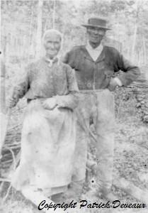 Candeille Joseph et Mangeot Francoise en 1899