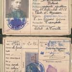 Carte identité DEVEAUX Roland