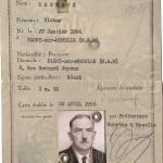 Carte identité DEVEAUX Victor