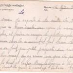 carte postale prisonnier de guerre