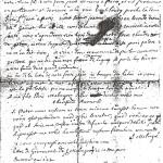 Lettre Nicolas MALINGRE Vienne 1708