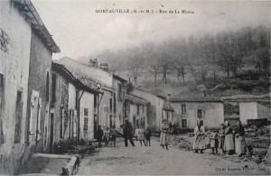 Montauville rue de la misère