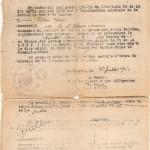 Ordre de mobilisation VALLOIS Georges