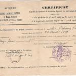 Solde militaire DEVEAUX Victor 1919