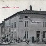 Le café Jenot à Vandières