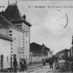 Vandières la route de Pagny à Pont à Mousson